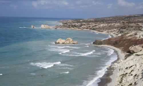 Zdjęcie CYPR / Cypr / Skała Greka (Petra Tou Ramiou) / Miejsce narodzin Afrodyty