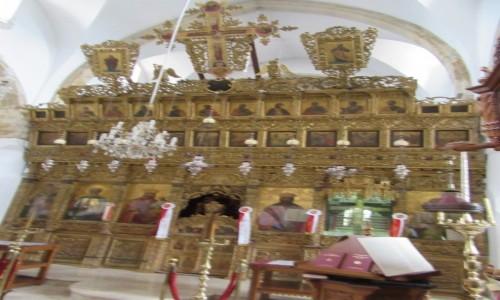 Zdjecie CYPR / Omodos / Omodos / Klasztor św. Krzyża - ołtarz