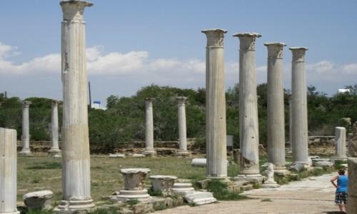 Zdjęcie CYPR / Cypr / Cypr (w pobliżu Famagusty) / Starożytne miasto (port) Salamina)