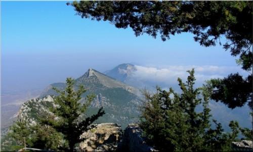 Zdjecie CYPR / Kyrenia / okolice Girne / Widok z zamku Buffavento