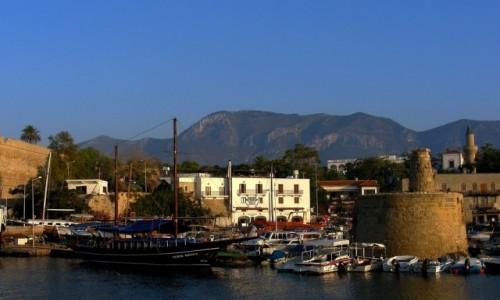 Zdjęcie CYPR / Kyrenia / okolice Girne / Widok na port z twierdzy