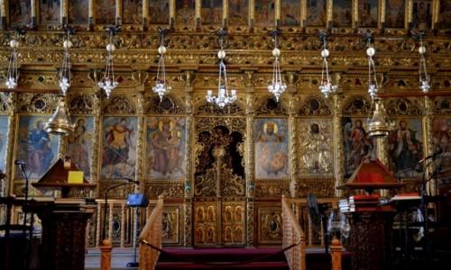 Zdjęcie CYPR / południe / Larnaka / Ikonostat w kościele św. Łazarza w Larnace