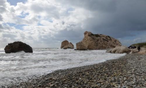 Zdjęcie CYPR / Zachód. Grecka część wyspy / okolice Pafos / Skała Afrodyty
