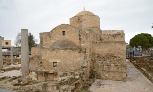 Zdjęcie CYPR / Paphos. Część grecka / Paphos / Kościół Ayia Kyriaki z XI wieku z listy UNESCO