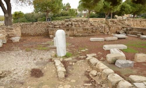 Zdjęcie CYPR / Paphos. Część grecka / Paphos / Kolumna św. Pawła, przy której go biczowano