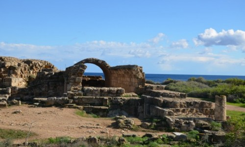 Zdjecie CYPR / Część turecka Cypru / Salamina / Ruiny starożytn