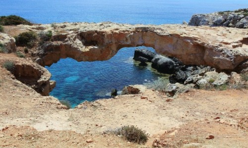 Zdjecie CYPR /  Ayia Napa / Cape Greco  / Most