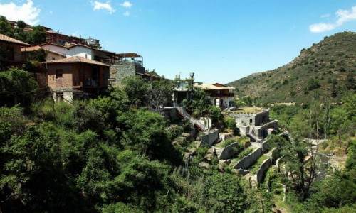 CYPR / Marathasa / Kalopanagiotis  / Na zboczu wzgórza