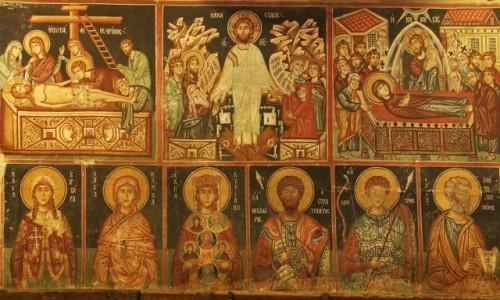 Zdjecie CYPR / Góry Troodos / Pedoulas / Kościół Archangelos Michael XV w. freski