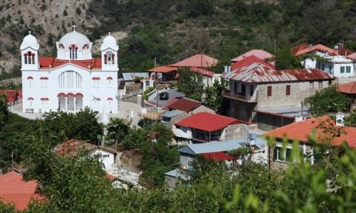 CYPR / Góry Troodos / Pedoulas / Katedra pw. Św. Krzyża