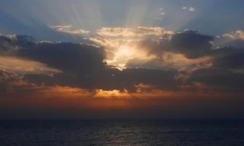 Zdjecie CYPR /  zachodni Cypr / Pafos / I każdego dnia zachód słońca