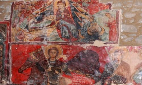 Zdjecie CYPR / Góry Troodos / gdzieś w górach / Malowidła w górskim kościółku