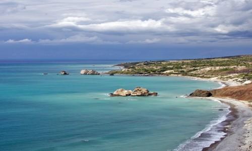 Zdjęcie CYPR / Dystrykt Pafos / Skała Afrodyty / Odcienie turkusu