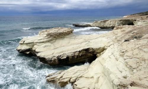 Zdjecie CYPR / Dystrykt Larnaka / Governor's beach / White Rocks