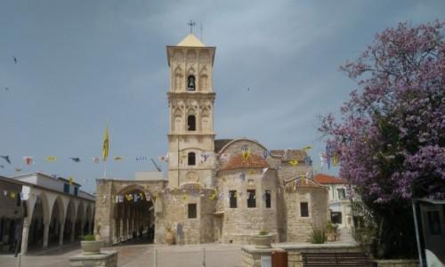 Zdjęcie CYPR / Larnaka / Kościół św. Łazarza / w.wielkanocnym przybraniu