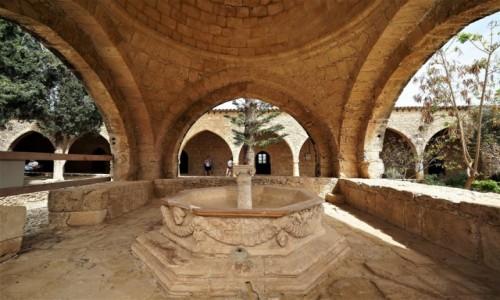 Zdjęcie CYPR / Larnaka / Średniowieczny monaster w Ayia Napa / Studnia