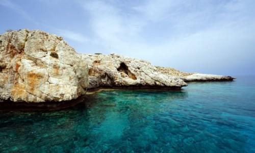 Zdjęcie CYPR / Larnaka / Ayia Napa / Błękitna laguna