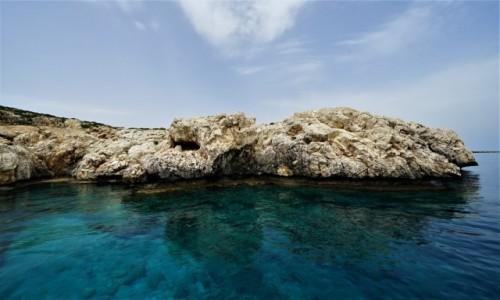 Zdjecie CYPR /  Larnaka / Ayia Napa / Lazurowe wody