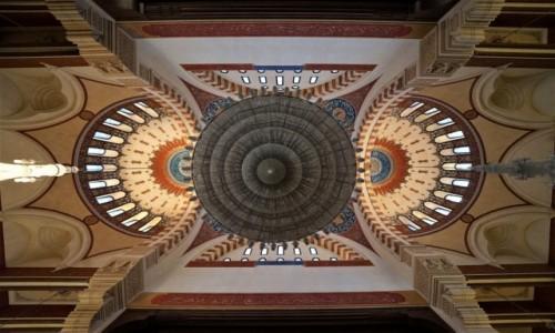 Zdjecie CYPR / Bejrut / Meczet Mohammad Al-Amin / Sklepienie