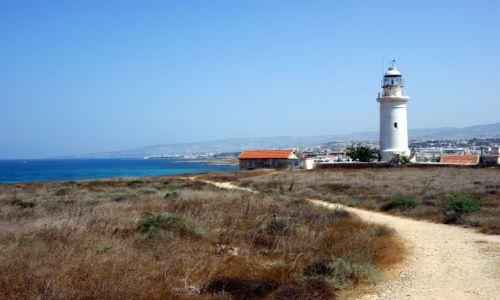Zdjecie CYPR / Cypr zachodni  / Pafos / latarnia