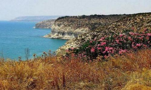 Zdjęcie CYPR / widok z Kourion / akrotin / akrotin