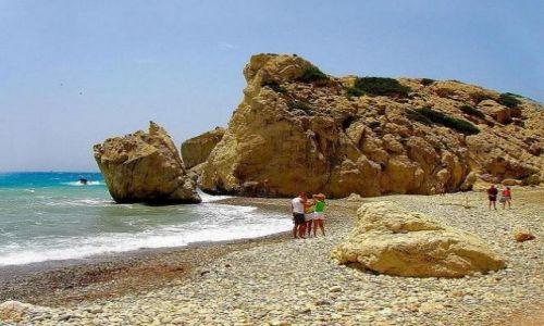 Zdjecie CYPR / okolice Pafos / Petra Tou Romiou / Przy skale Afrodyty
