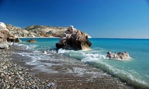 Zdjecie CYPR / Petra tou Romiou-Cypr / Petra tou Romiou / Plaża Afrodyty