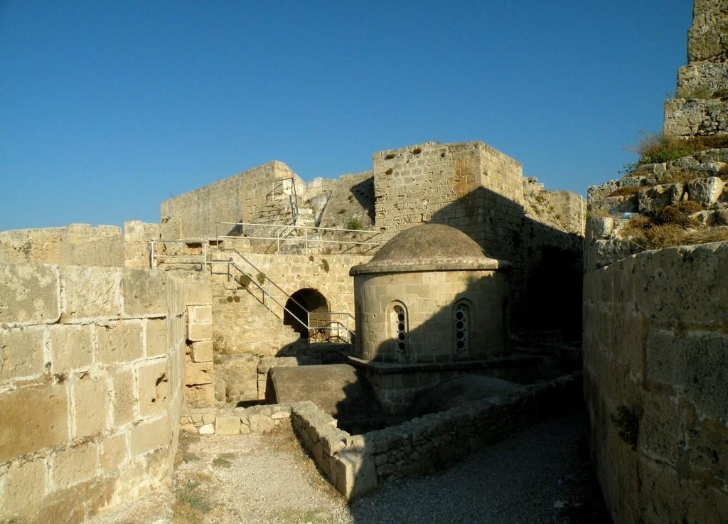 Zdjęcia: Girne, Kyrenia, Schron w twierdzy, CYPR PÓŁNOCNY