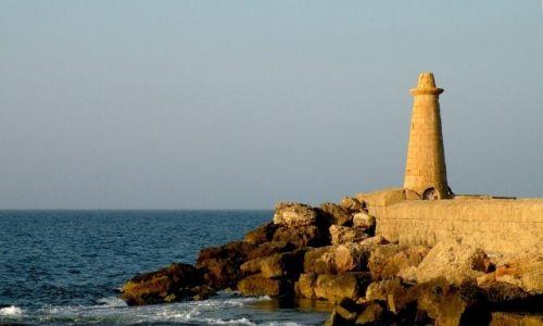 Zdjęcie CYPR PÓŁNOCNY / Kyrenia / Girne / Latarnia, koniec falochronu