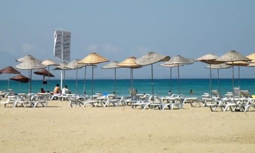 Zdjęcie CYPR PÓŁNOCNY / okolice Famagusty / plaża / Plaża