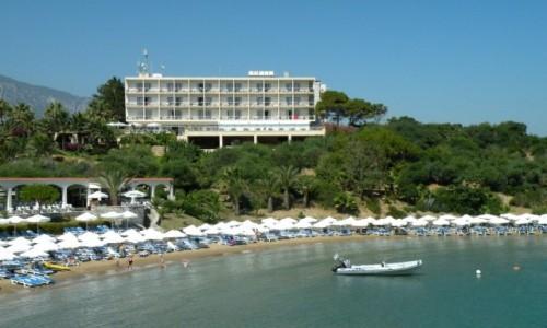 Zdjecie CYPR PÓŁNOCNY / okolice Yesziltepe / Nad brzegiem Morza Śródziemnego / Denizkiz hotel