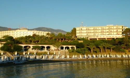 Zdjecie CYPR PÓŁNOCNY / okolice Yesziltepe / Nad brzegiem Morza Śródziemnego / Hotele i plaża