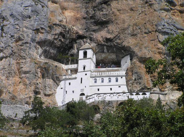Zdjęcia: monastyr Ostrog, dolina Zety, Ostrog, CZARNOGÓRA