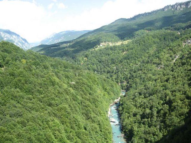 Zdjęcia: Kanion na rzece Tarze, Rijeka Tara, CZARNOGÓRA