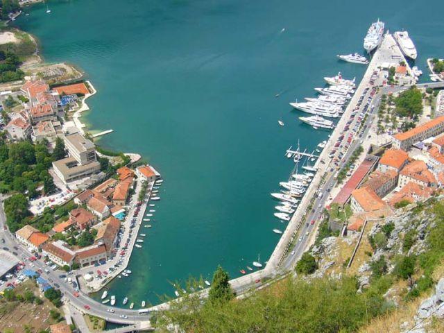 Zdj�cia: Kotor, Zatoka Kotorska, CZARNOG�RA