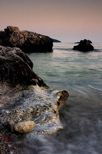 Zdjęcia: Herceg-Novi, Skaliste wybrzeże Herceg-Novi, CZARNOGÓRA