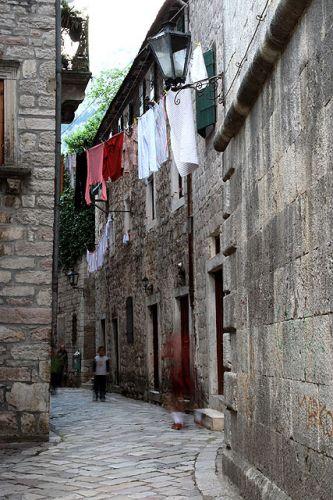 Zdjęcia: Kotor, Uliczka starego Kotoru, CZARNOGÓRA
