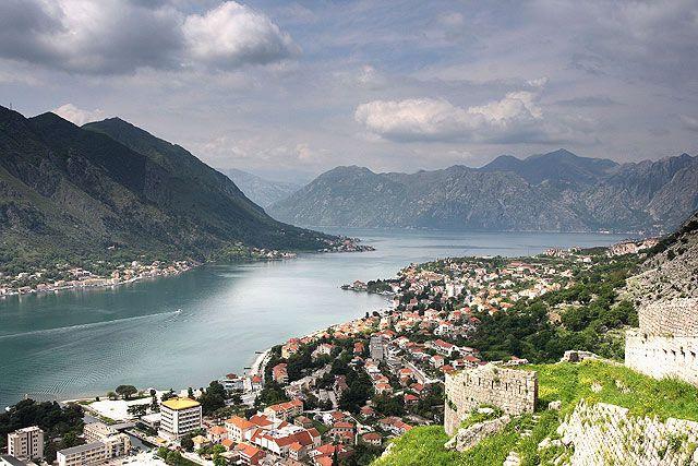 Zdjęcia: Kotor, Panorama Kotoru, CZARNOGÓRA
