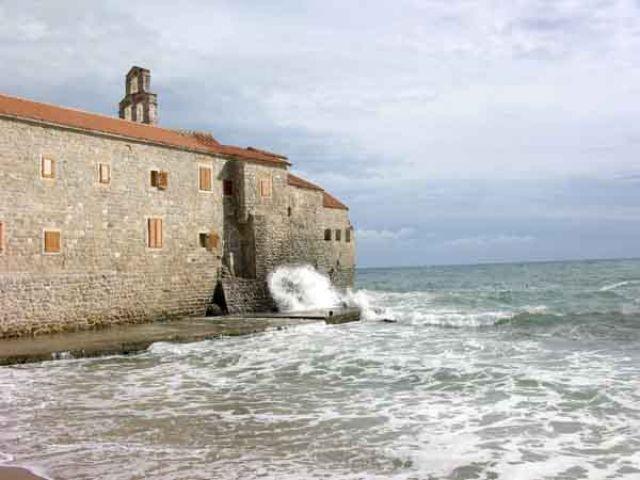 Zdjęcia: Budva, W morze, CZARNOGÓRA