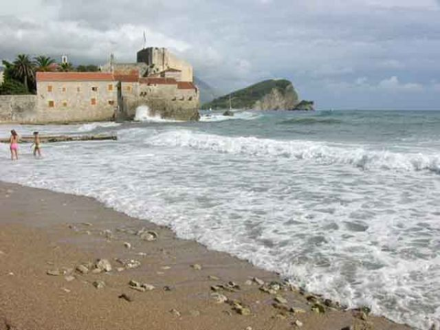 Zdjęcia: Budva, Wyspa św.Mikołaja, CZARNOGÓRA