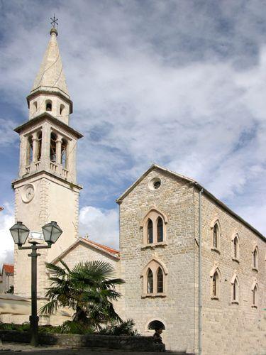 Zdjęcia: Budva, Kościół, CZARNOGÓRA