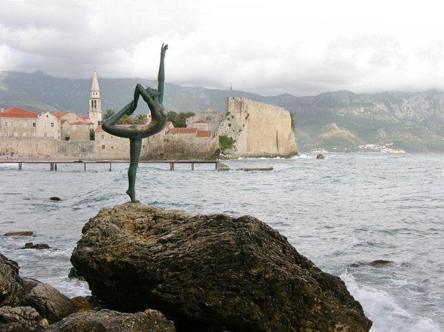 Zdjęcia: Budva, Baletnica?, CZARNOGÓRA