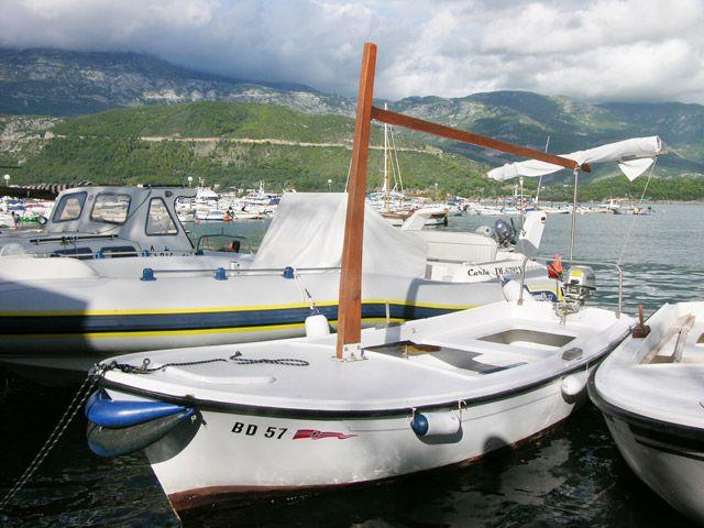 Zdjęcia: Budva, Port jachtowy, CZARNOGÓRA