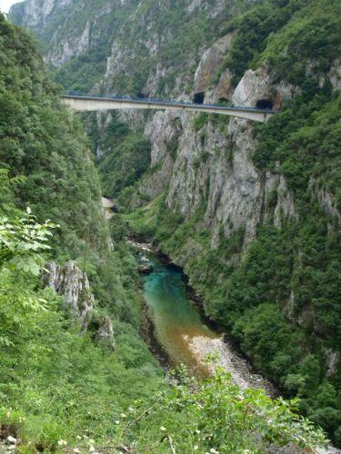 Zdj�cia: Kanion Pivy, Kanion Pivy, CZARNOG�RA