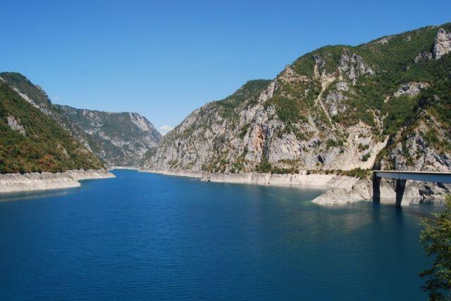 Zdjęcia: Zalew na rzece Tara, północ, Zalew na Tarze, CZARNOGÓRA