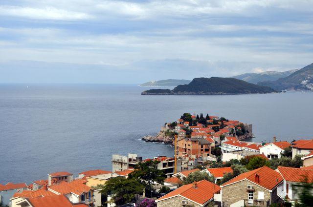 Zdjęcia: okolice Budvy, Wyspa św. Stefana, CZARNOGÓRA