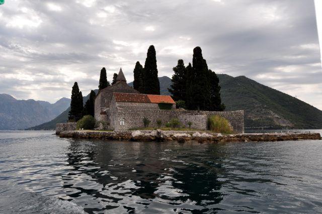 Zdjęcia: okolice Perastu, Zatoka Kotorska, Wyspa św. Jerzego, CZARNOGÓRA
