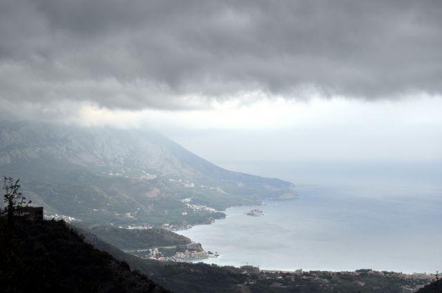 Zdjęcia: Budva, Wybrzeże Adriatyku, Widok na Budvę, CZARNOGÓRA