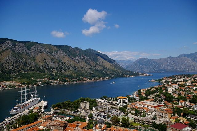 Zdjęcia: Kotor, Zatoka Kotorska, CZARNOGÓRA