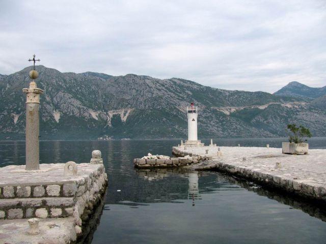 Zdjęcia: Zatoka Kotorska, Bałkany, Stara latarnia, CZARNOGÓRA